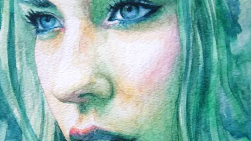 Speed Painting Watercolor _ Spectrum