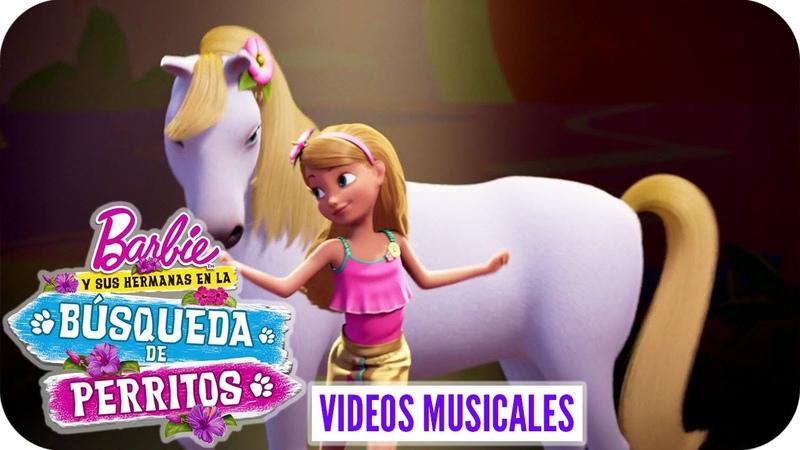 Live In The Moment | Video Musical (Competencia)| Barbie y sus hermanas en la Búsqueda de perritos