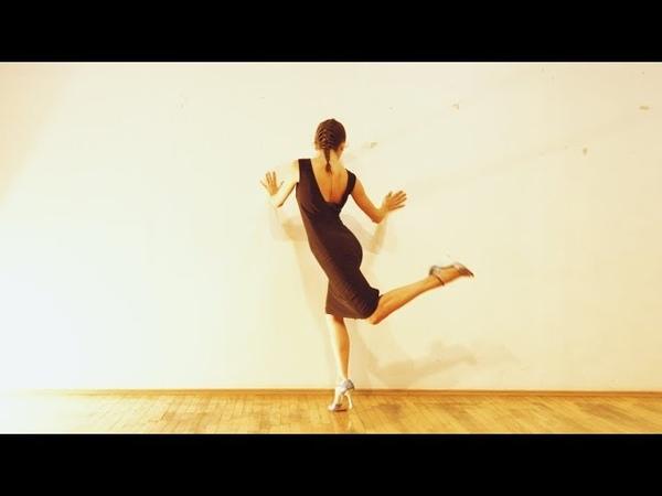 Tekla Gogrichiani - Tango Women's Technique - 'El Huracan' Solo Tango Orquestra