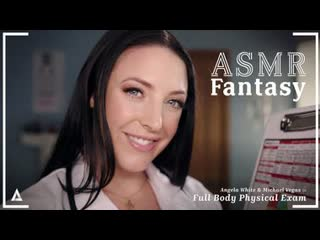 Angela white asmr fantasy full body physical exam [adulttime] milf big tits ass asmr joi pov