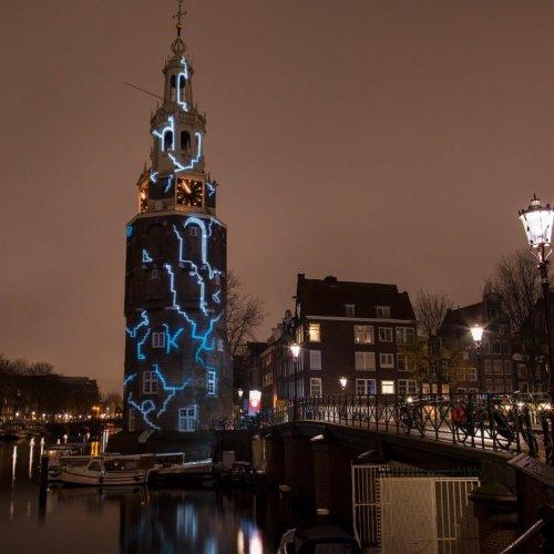 Амстердамский фестиваль света-2019: улицы нидерландской столицы украсили световые инсталляции