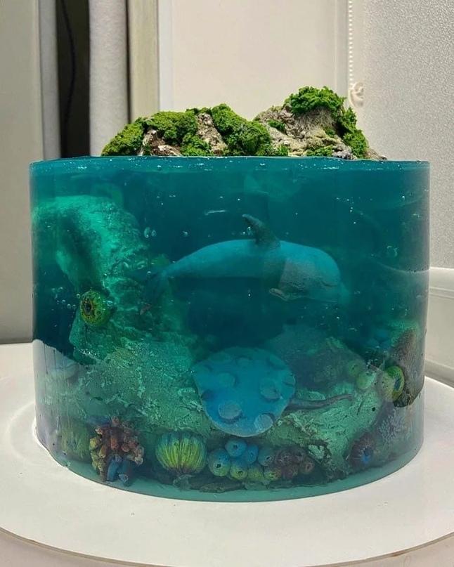 это торт 😱💙