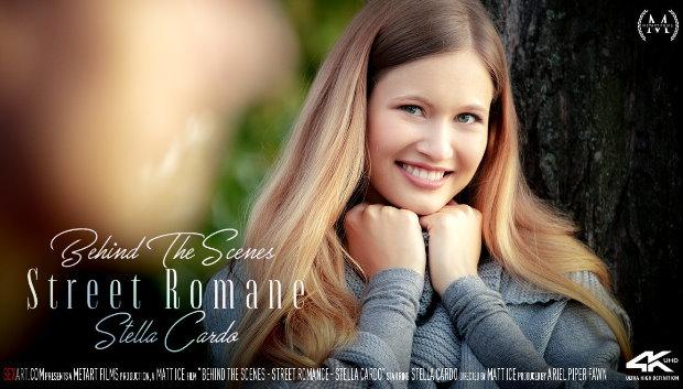 SexArt - Behind The Scenes: Street Romance - Stella Cardo