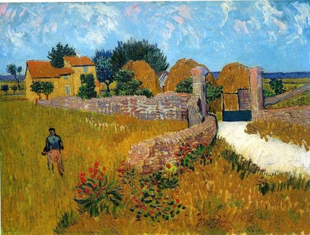« одного шедевра». «Ферма в Провансе»,Винсент Ван Гог