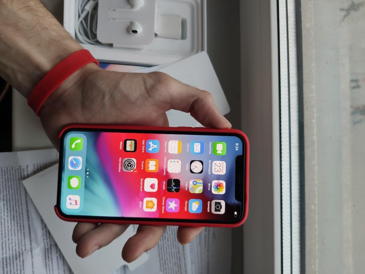 iPhone X Black 64gb Цена 30000 рублей  В ремонте не | Объявления Орска и Новотроицка №2913