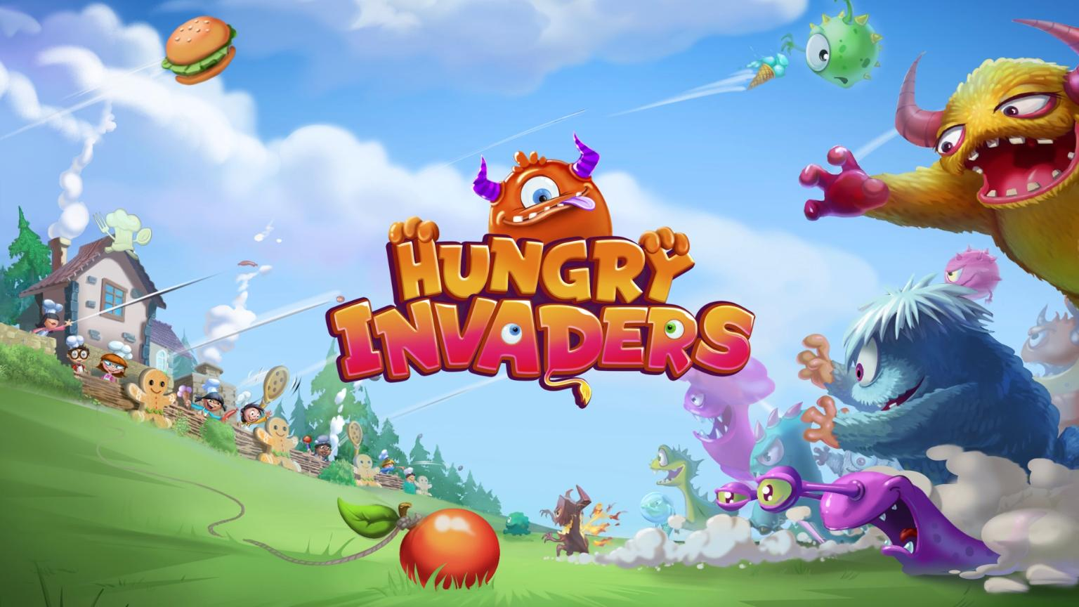 Голодные захватчики | Hungry Invaders (En)