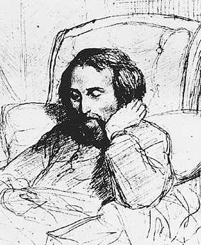 «МАТРАСНАЯ МОГИЛА» ГЕНРИХА ГЕЙНЕ Выдающийся немецкий поэт эпохи романтизма Генрих Гейне полжизни страдал неврологическим заболеванием. Несмотря на то, что болезнь сделала Гейне инвалидом, и