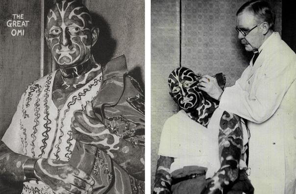 Сейчас татуировками уже никого не удивишь А вот в конце XIX начале XX века немногие наносили на свое тело рисунки. Однако именно тогда творили легендарные тату-мастера. Одним из них был