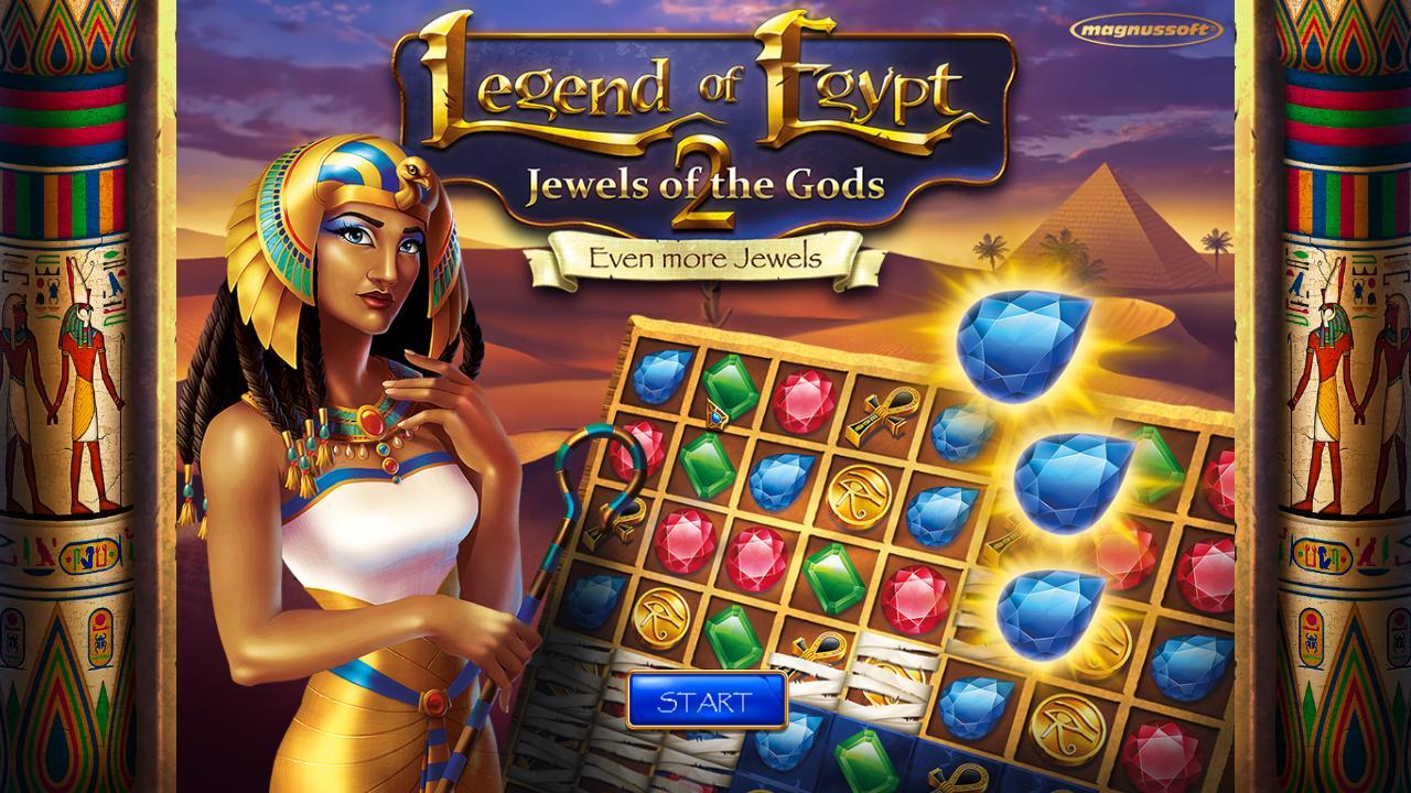 Легенда Египта 2: Сокровища богов | Legend of Egypt 2: Jewels of the Gods Even More Jewels (En | DE)
