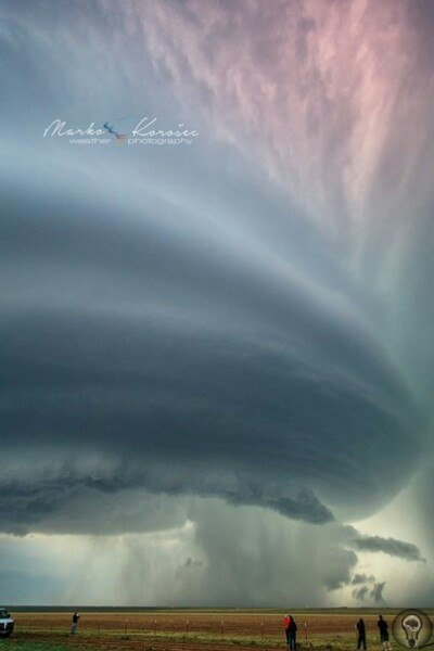 Фотографии торнадо и суперячеек от фотографа Maro orosec
