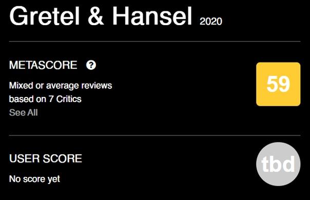 «Гретель и Гензель», судя по первым оценкам, вполне себе сносное зрелище Пресса в один голос хвалит потрясающие работы оператора и художника-постановщика, а также отмечает, что это очень