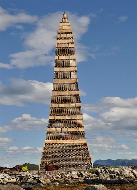Слиннингсбалет: самый большой костер в мире