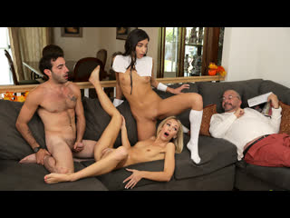 [brattysis] emily willis sky pierce thanksgiving day sex with pilgrims and pussies newporn2019