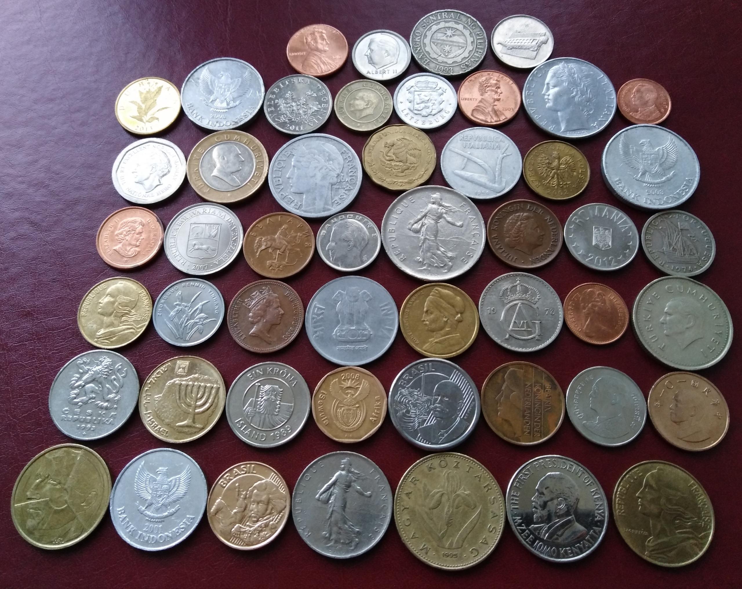 Купить иностранные монеты, банкноты и | Объявления Орска и Новотроицка №1365