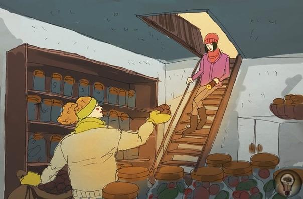 ИНОСТРАНЦЫ О РУССКОЙ ДЕРЕВНЕ Связки чеснока на стенах, огород 24/7 и удивительная прибавка численности населения на несколько месяцев в году что еще поражает иностранцев в русских деревнях.