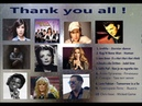Diana sang their songs, perhaps even better, thanks to them all.