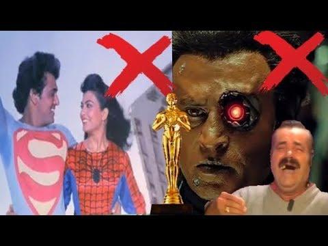 ТОП 10 УПОРОТЫХ ИНДИЙСКИХ СЦЕН из фильмов терминатор супер мен и женщина паук индийская матрица