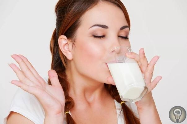 Как правильно пить молоко.