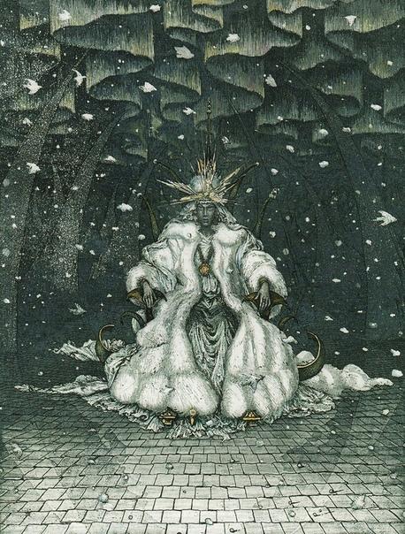 Иллюстрации к «Снежной королеве»