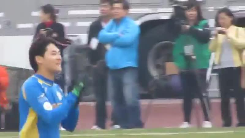 2011.04.15 Kim Hyun Joongs Goal @ 5th Peace Star Cup