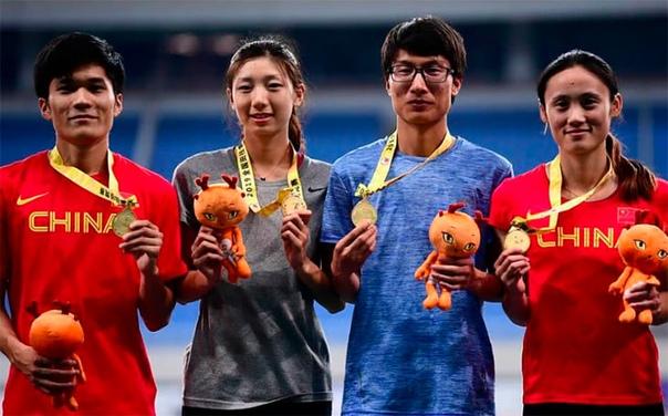 Китайских спортсменок заподозрили в том, что они мужчины