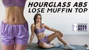 Hourglass Abs Workout 🙋♀️Lose Muffin Top Love Handles   10 Mins