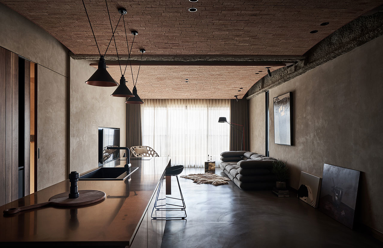 A Family Apartment of Unrefined Elegance and Crisp Craftsmanship in Taiwan || 01