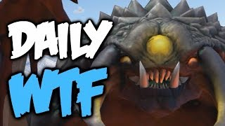 Dota 2 Daily WTF - Rosh wants to be Influencer