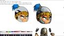 Как я рисовал персонажа в Inkscape
