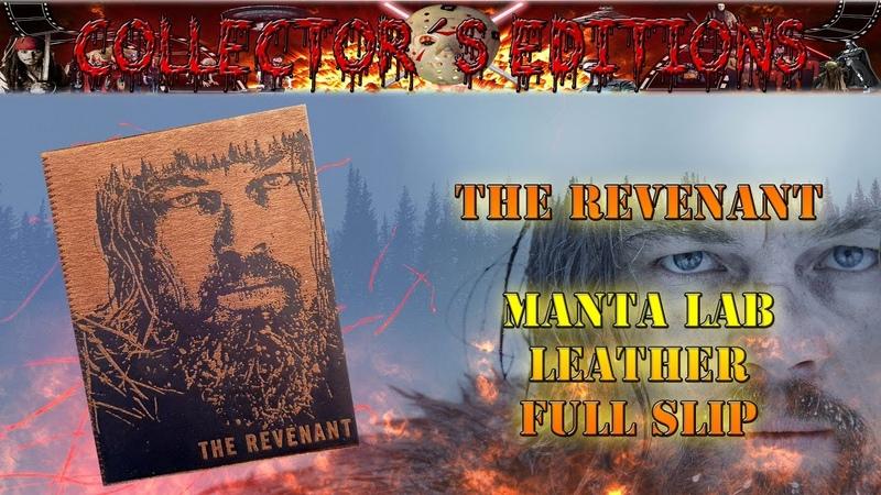 Unboxing - The Revenant - Manta Lab - Leather Full Slip