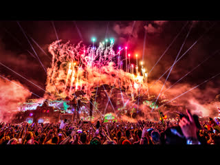 3 are legend (dimitri vegas & like mike, steve aoki) - 15 years ceremony closing tomorrowland 2019