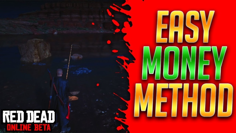 EASY FISHING MONEY METHOD - Red Dead Redemption 2 Online Red Dead Online Money Method (RDR2 Online)