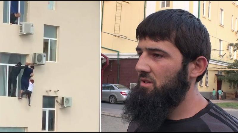 Каждая секунда была дорога житель Чечни рассказал о спасении ребёнка
