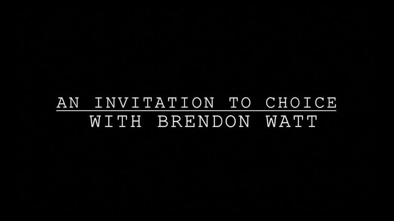 Приглашение к выбору с Брендом Уоттом