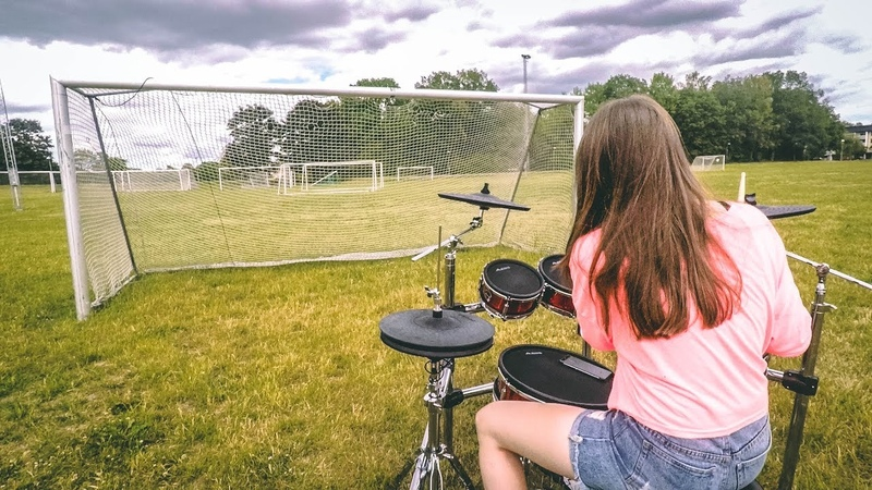 FIFA World Cup 2018 Drum Cover Live It Up By TheKays