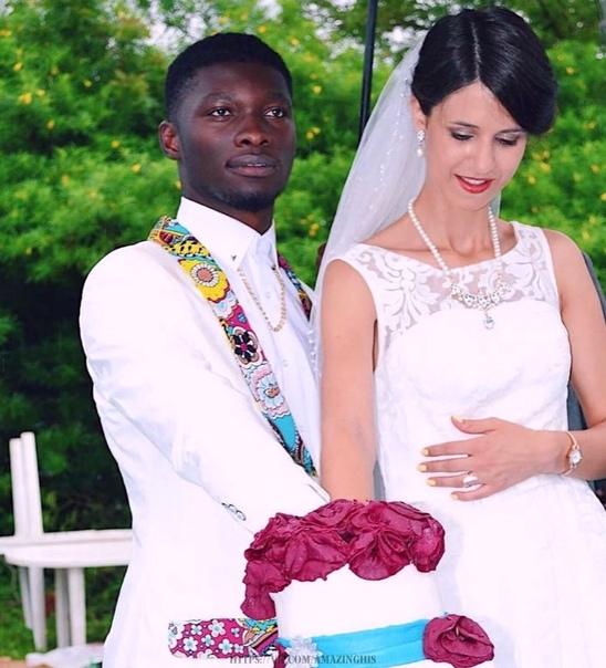 Российская девушка вышла замуж за нигерийского принца.