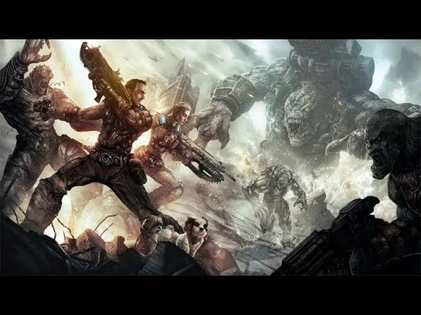 Gears of war 5 бешеные мутанты YouTube