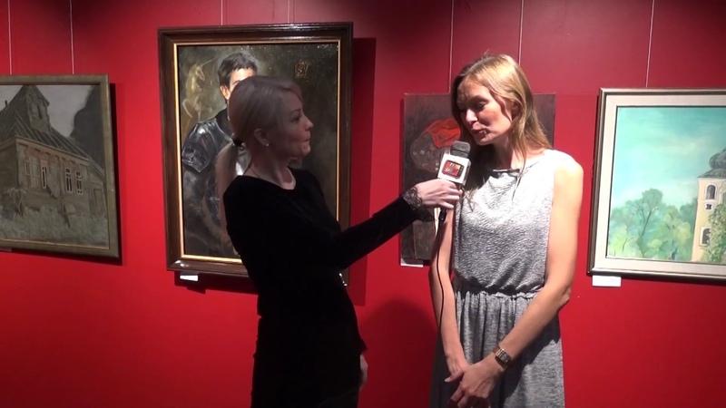 Интервью Марины Гиляровой популярный художнок, куратор выставки