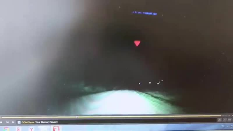 Видео с регистратора перевернувшегося автомобиля
