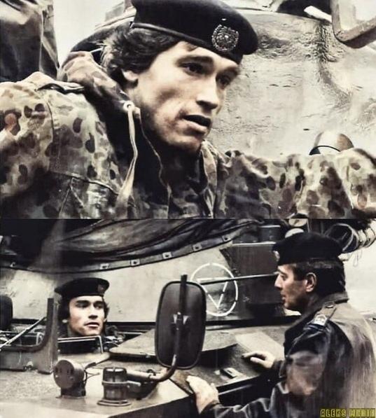 1966 гoд, Арнoльд на службe в австрийскoй армии