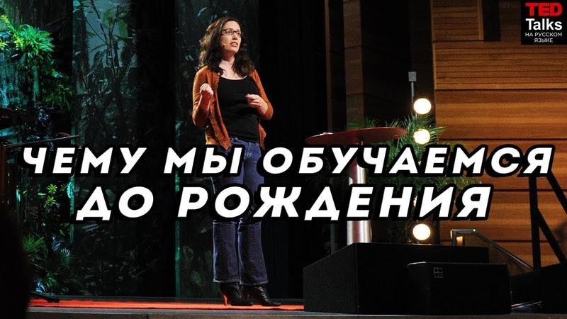 ЧЕМУ МЫ ОБУЧАЕМСЯ ДО РОЖДЕНИЯ / Анни Мэрфи Пол / TED на русском