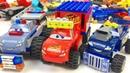 Машинки Маквин Тачки Лего Тюнинг Полицейская Машина Монстр Трак Мультики про Машинки