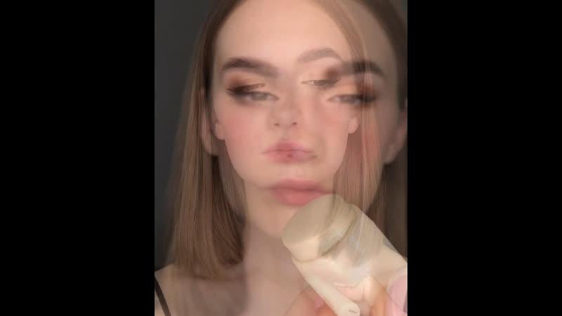 Очень простой сияющий макияж