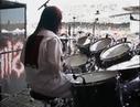 Joey Jordison Drumming Backstage camera