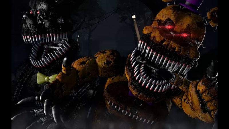 MiatriSs - Five Nights At Freddy's 4 Song - FNAF 4 [RusCover]