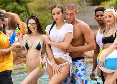 Porno Brazzers Pool Shy