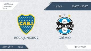 AFL19. America. Segunda. Day 12. Boca Juniors-2 - Gremio.