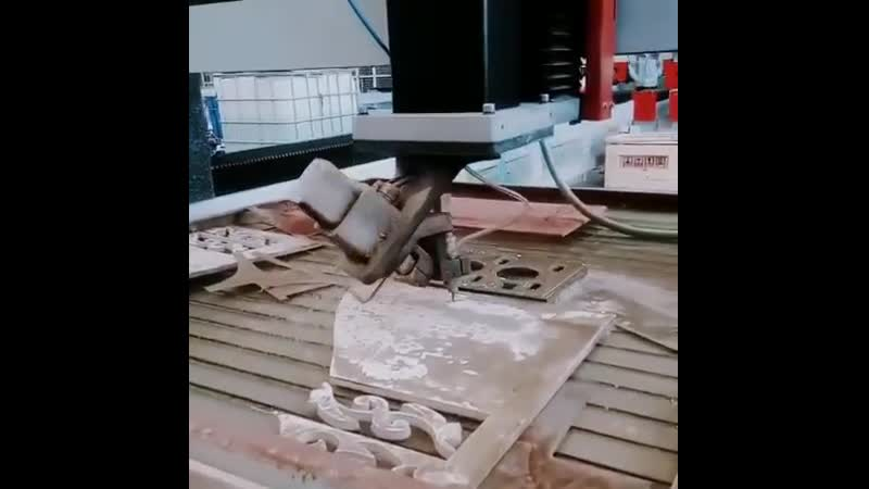 5AC axis waterjet cutter