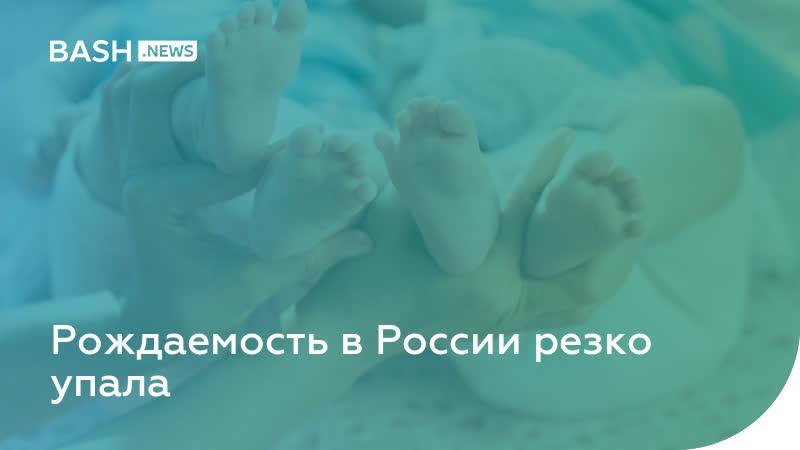 Рождаемость в России резко упала
