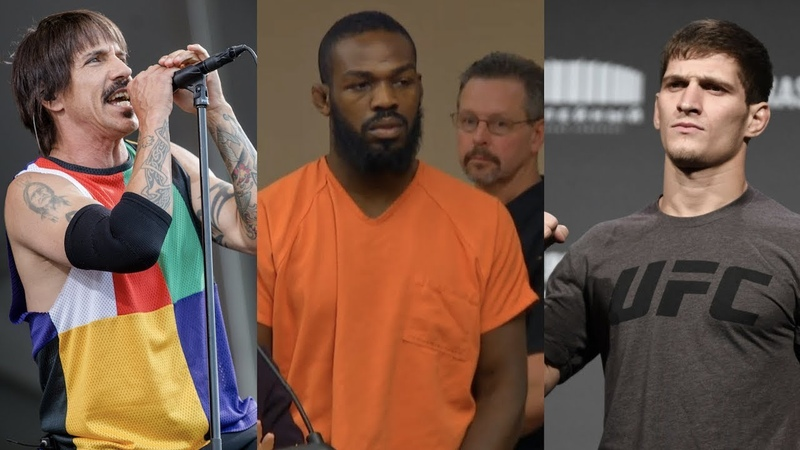 Ордер на арест Джона Джонса концерт Red Hot Chili Peppers на UFC 242 следующий бой Мовсара Евлоева